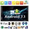 "SWM 7"" 2 Din Bluetooth Android 7.1 Auto Stereo MP5 MP4 Player GPS Radio+EU Karte"