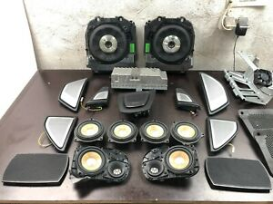 BMW OEM F11 Bang & Olufsen Sound SET Speakers Covers Amplifier Subwoofers Cables