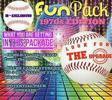 1970s EDITION (10) Baseball Card MYSTERY FUN-PACK - LIMITED QTY AVAILABLE