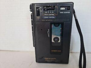 Vintage Realistic VSC-2001 Cassette Player Recorder Variable Speech Control.