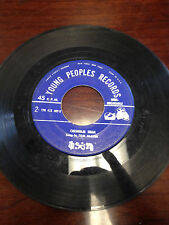 """Young peoples records, Chisolm Trail by Tom Glazer 7"""" 45RPM"""