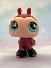 Littlest Pet Shop Authentic # 629 Red Peach Large Lady Bug Ladybug Clover Eyes