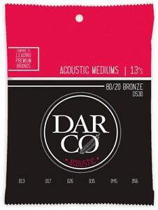 MUTA SET DI CORDE MARTIN DARCO D530 BRONZE 80/20 PER CHITARRA ACUSTICA .013 .056