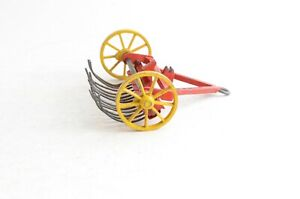 Dinky Toys No 27k Hay Rake - Meccano Ltd - Made In England