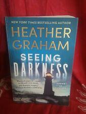 Seeing Darkness by Heather Graham. Krewe of Hunters #30. Psychic Thriller. PB.