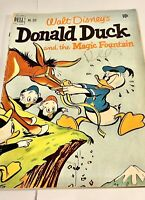 Four Color #339 Walt Disney's DONALD DUCK Magic Fountain - VG 1951 Vintage Comic
