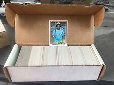 1981 Donruss Baseball COMPLETE SET 1-600 + Puzzle MT/NR MT Tim Raines RC