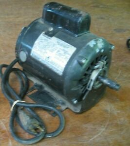 older Sears Craftsman wood lathe 113. replacement parts - motor 115/230 V 1/3 HP