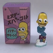 "The Simpsons - MR. SPARKLE - Kidrobot - New 3""  - Homer Mr Sparkles"