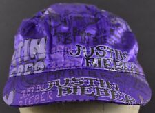 Purple Justin Bieber Canadian Singer Girls Kids Cadet hat cap Fitted