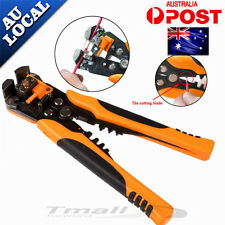 NEW-Automatic Wire Cutter Stripper Crimping Tool Pliers Electrical Cable Crimper