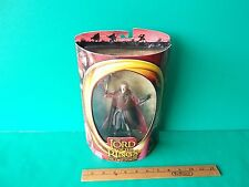 "Lord of the Rings Two Towers King Theoden 6.75""in w/Sword Attack Action Toy Biz"