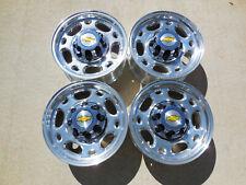 "New 16"" 8 Lug Alloy Wheels Rims Chevy Silverado 2500 3500 Hd Express 8x6.5"