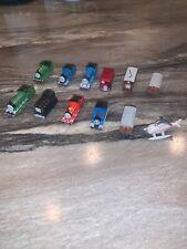 Thomas The Train Mini PVC Rubber Hard Plastic Figures Cake Topper Lot of 12