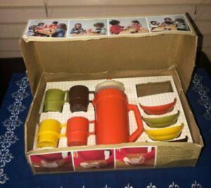 Vintage 1979 TUPPERWARE TOYS Mini-Serve-It Childrens Serving Set w/Box CLEAN Toy