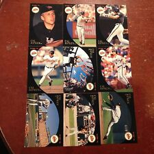 CAL RIPKEN JR 1994 SCORE BURGER KING BASEBALL CARD SET 9 Gold cards Orioles O's