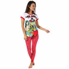 Womens Dc Comics Justice League Pyjamas In Red