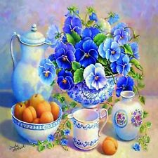 VASE OF FLOWERS MOSAIC DIAMOND PAINTING KIT PAINT BY NUMBERS KIT 5D CROSS STITCH