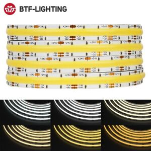 FCOB CCT Flexible COB LED Strip Light FOB 640 High Density Dimmable Tape DC 24V