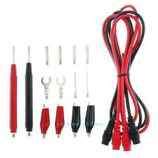 16pcs Multifunction Digital Multimeter Probe Test Leads/Alligator Clip Test Kit