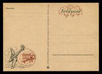 1940s WW2 Germany 3rd Reich Picture Postcard German Hitler Luftwaffe Feldpost