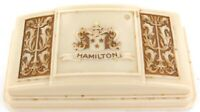 .SUPERB c1930s 1940s / HAMILTON MENS MID-SIZE BAKELITE WATCH DISPLAY BOX.