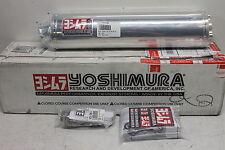 04-05 SUZUKI GSXR 600 GSXR 750 STAINLESS STEEL YOSHIMURA EXHAUST PIPE MUFFLER