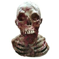Bloody Disgusting Zombie Latex Face Mask Scary Halloween Costume Party Props