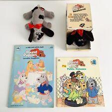 Vintage 1985 Pound Puppies Newborns Tonka 7807 Brown Dog
