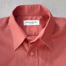 Yves Sain Laurent Pour Homme Men's Business Casual Shirt Size 39 UK 15 1/2 (PX)