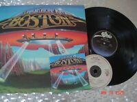 "Boston ""Don't Look Back"" LP 1978 Epic Records FE-35050 Gatefold Press Blue label"