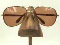 Vintage ArtCraft Gold Metal Aviator Pilot Eyeglasses Sunglasses USA FRAMES ONLY