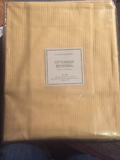 "Restoration Hardware Ottoman Bedding 26"" X 26"" European Pillow Sham Gold Maize"
