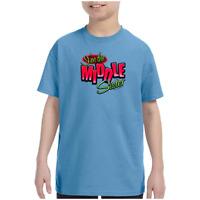 Youth Kids Gildan T-shirt I'm The Middle Sister k-333