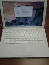 MacBook 13 inch 2.13ghz intel core 2 duo 4gb memory 250gb hdd 10.11  EL CAPITAN