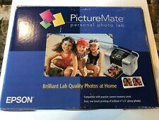 Epson PictureMate B271A Personal Photo lab photo Printer ** NEW ** Open Box New