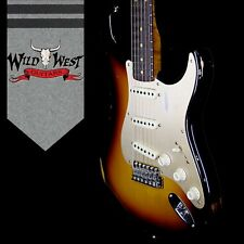 Fender Custom Shop Roasted 1960 Stratocaster Relic Birdseye Neck Rosewood Board