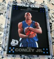 MIKE CONLEY JR. 2007 Topps BLACK #1 Draft Pick SP Rookie Card RC Utah Jazz HOT $