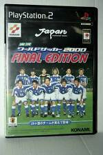 WORLD SOCCER 2000 FINAL EDITION USATO SONY PS2 EDIZIONE JAPAN NTSC/J GD1 42197