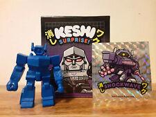 Super7 Keshi Surprise Transformers Decepticons Mini Shockwave Blue Muscle Fig G1