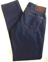 Paul Smith Mens Tapered Fit Indigo Blue Jeans Waist 34 inch x  Leg 34 inch