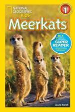 National Geographic Readers: Meerkats: By Laura Marsh