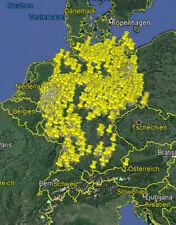 AKTUELLSTE Lost Place Urbex Karte Map Deutschland - LIMITIERT!