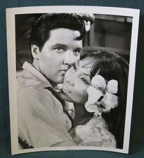 Elvis Presley B/W ABC Press Agency Photo 7 x 9 1965