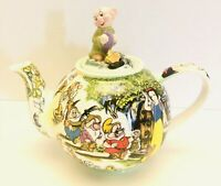 Disney Character Teapot Collection Limited Time Snow White Dopey Teapot Cardew