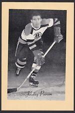 1945-64 Beehive Group II 2 Hockey John Johnny Peirson Short Print Boston Bruins