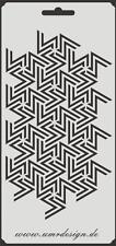 Scrapbooking gabarit s-089 carte ~ stencil ~ umr-DESIGN