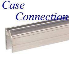 1m Hybrid - Schließprofil für 9 - 9,5 mm Material # ALU # beidseitig # Extrusion