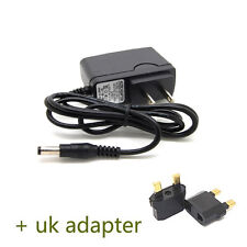 UK plug 9V 1A WALL Charger Adapter 5.5mm*2.1mm for Tablet PC MID aPad ePad PAD G
