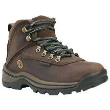 Men's Timberland White Ledge Mid Waterproof Hiker Boot Brown Nubuck 12135
